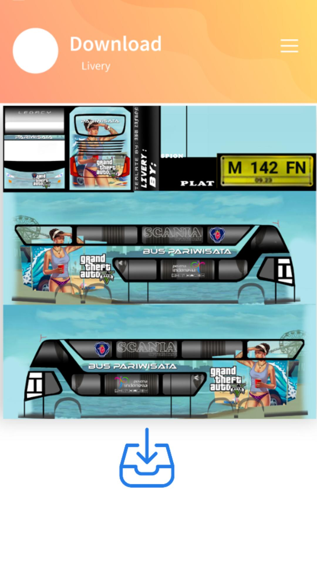 Livery Bus Medan Jaya Shd For Android Apk Download