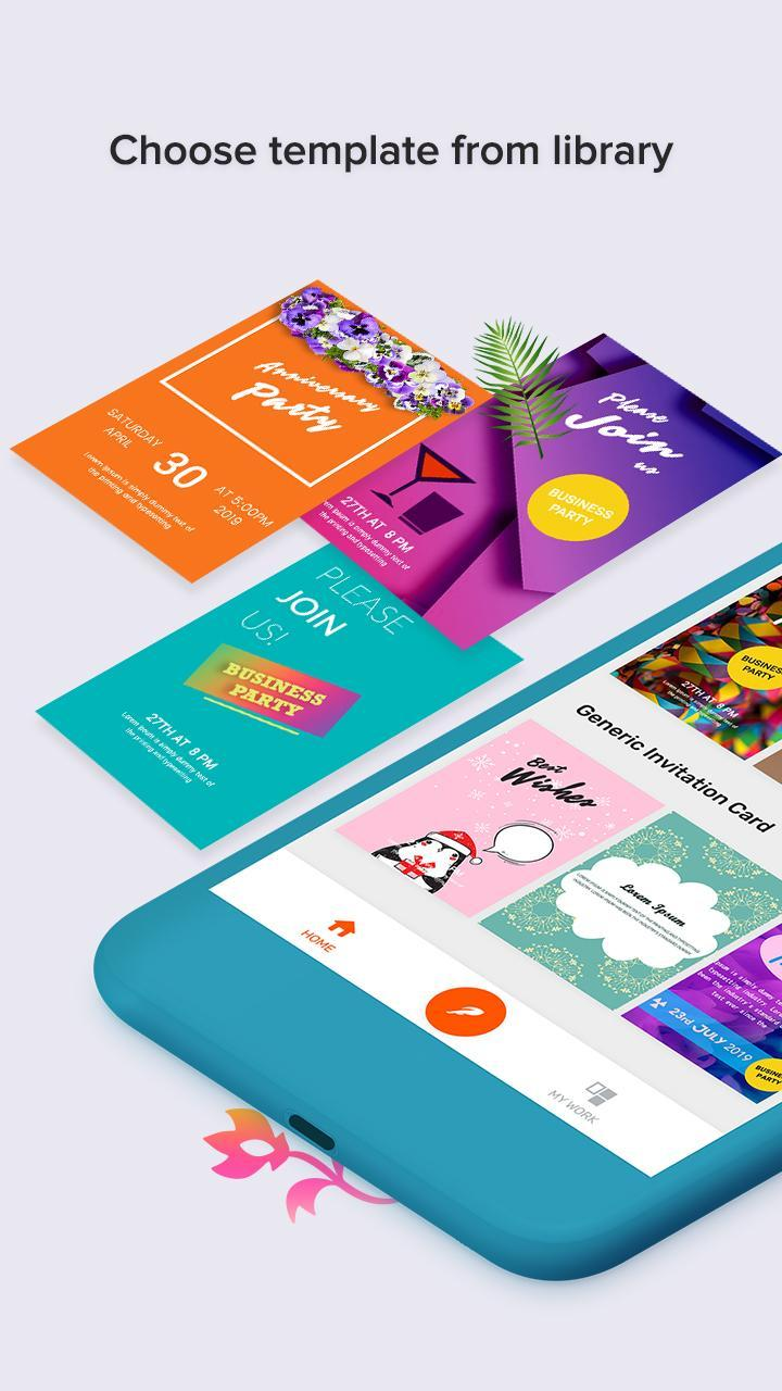 Business Event Invitation Card Maker Pour Android