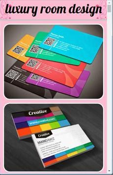 Name Card Design poster