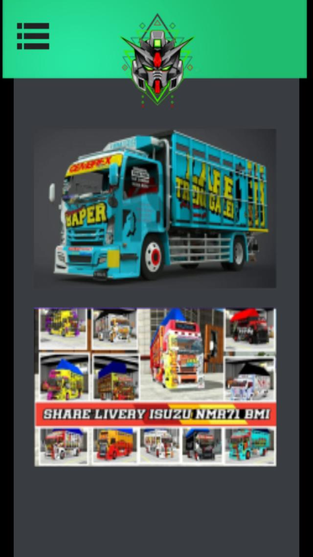 Mod Truck Canter Isuzu Lengkap For Android Apk Download