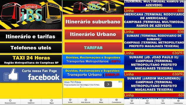 Intinerarios busao de Sumare screenshot 8