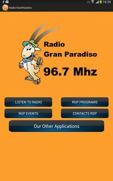 Radio GranParadiso screenshot 3