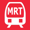 Singapore MRT &LRT Map (Offline)-icoon