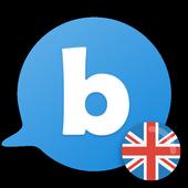 Learn to speak English with busuu icon