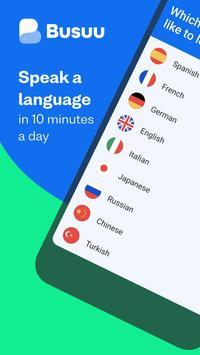 تعلُّم اللغات - Busuu الملصق