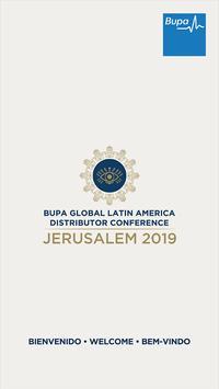 BGLA Jerusalem 2019 poster