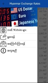 Myanmar Exchange Rates screenshot 1
