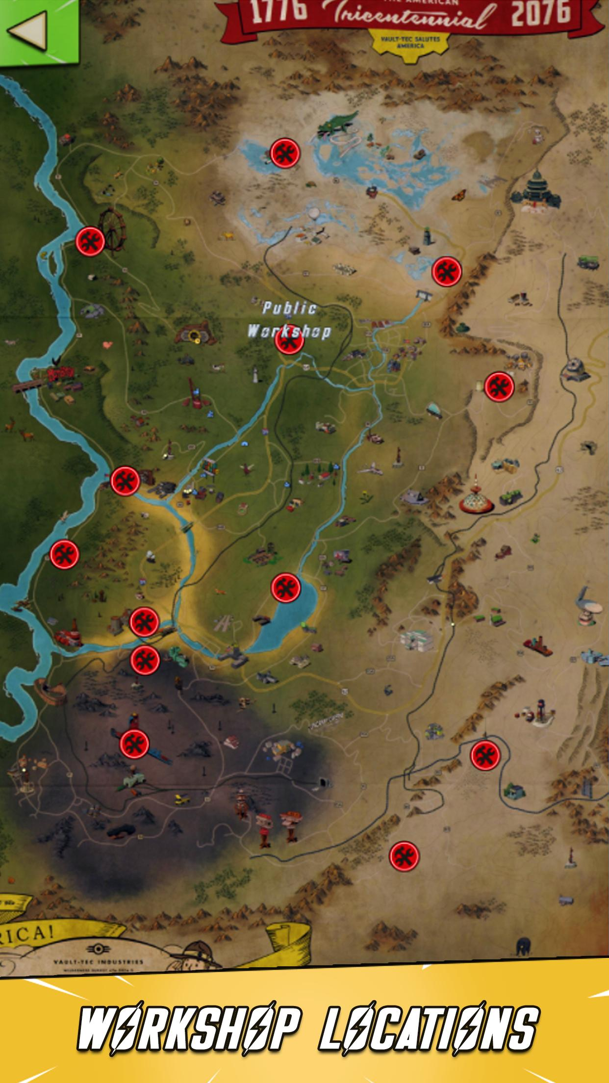 Map Guide for Fallout 76 for Android - APK Download