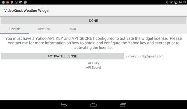 Yahoo Api Keys