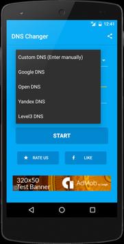 DNS Changer imagem de tela 1