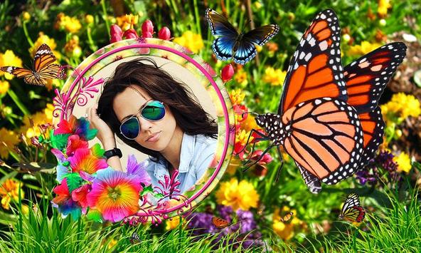 Butterfly Photo Frames HD poster