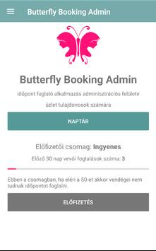 Butterfly Booking Admin poster