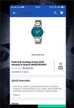 Shopershop Buy Watche Online Shopping App screenshot 3
