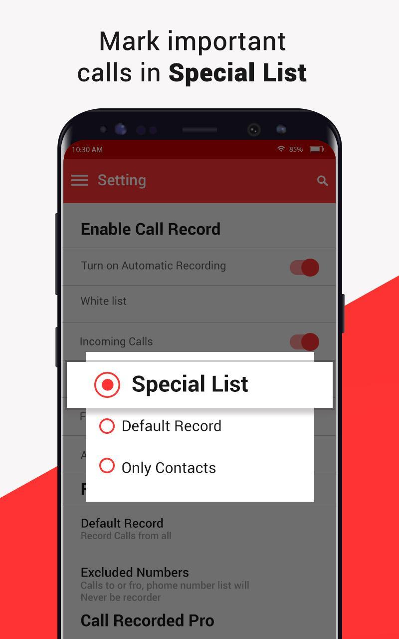 Automatic Call Recorder - Free Call Recording App for