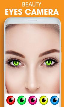 Eye, Hair Color Changer: Eye Colour Photo Editor poster