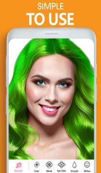 Eye, Hair Color Changer: Eye Colour Photo Editor screenshot 12