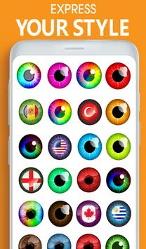 Eye, Hair Color Changer: Eye Colour Photo Editor screenshot 13
