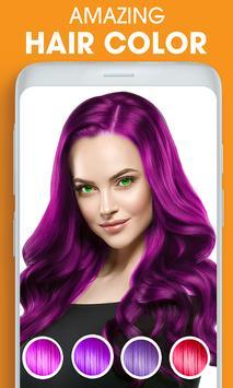 Eye, Hair Color Changer: Eye Colour Photo Editor screenshot 1