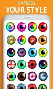 Eye, Hair Color Changer: Eye Colour Photo Editor screenshot 3