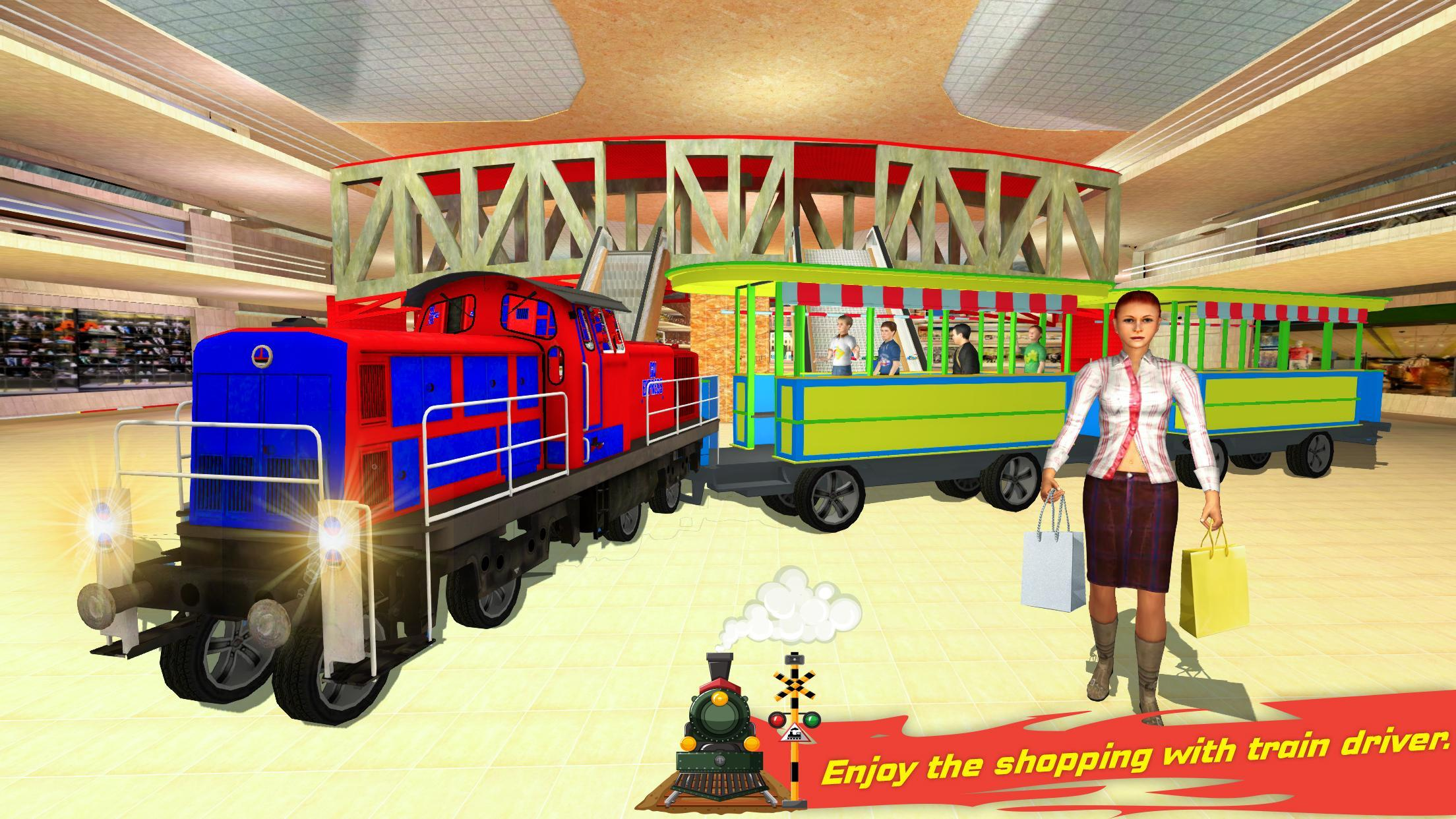 Christmas Shopping Simulator.Christmas Shopping Mall Rush Train Simulator For