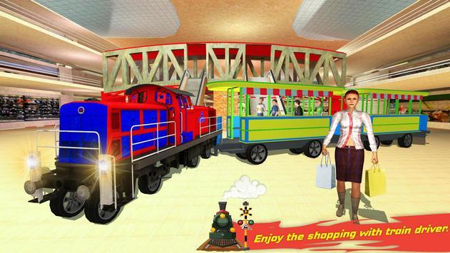 Shopping Mall Rush Train Simulator screenshot 2