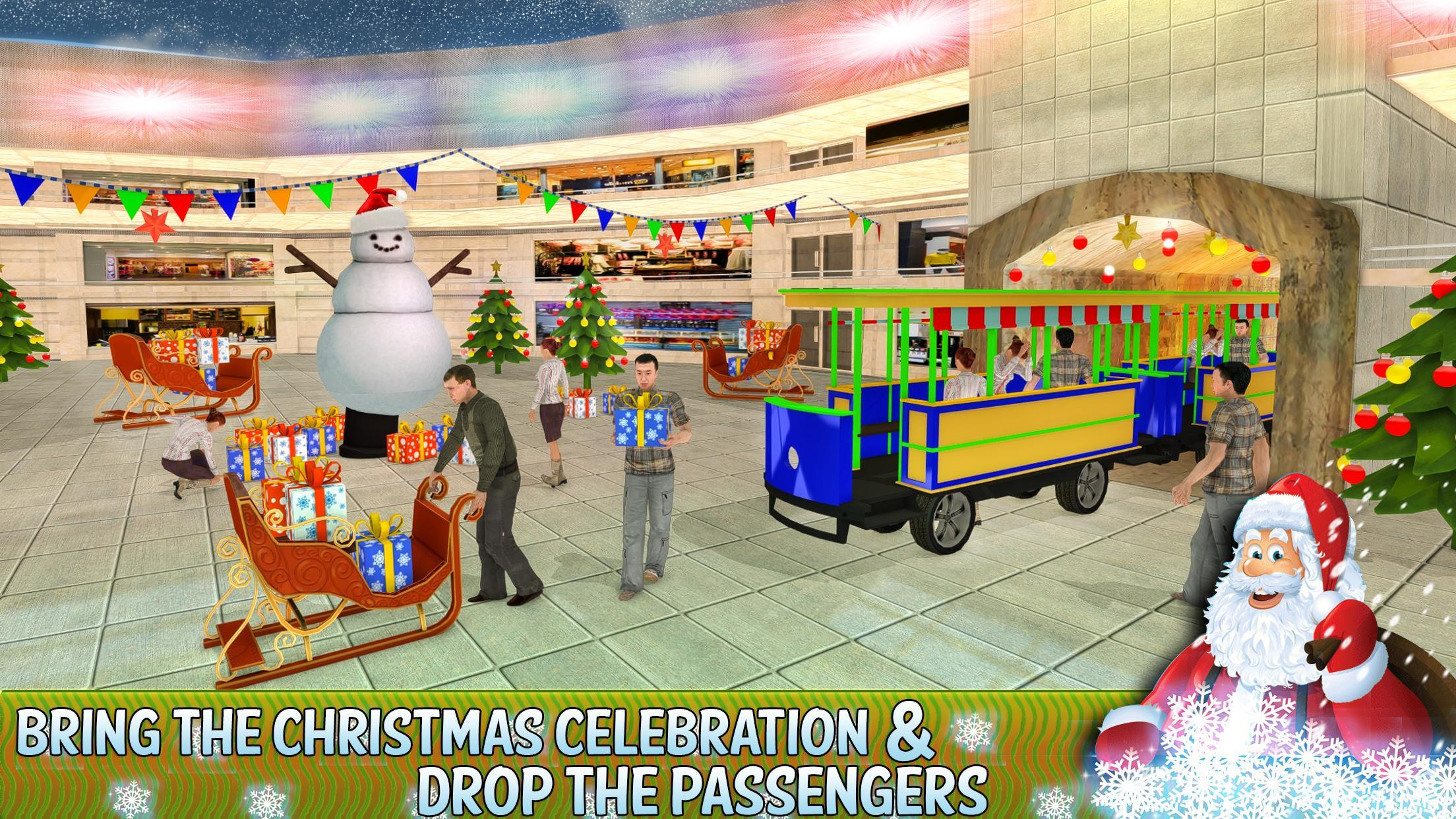Christmas Shopping Simulator.Shopping Mall Rush Train Simulator For Android Apk Download
