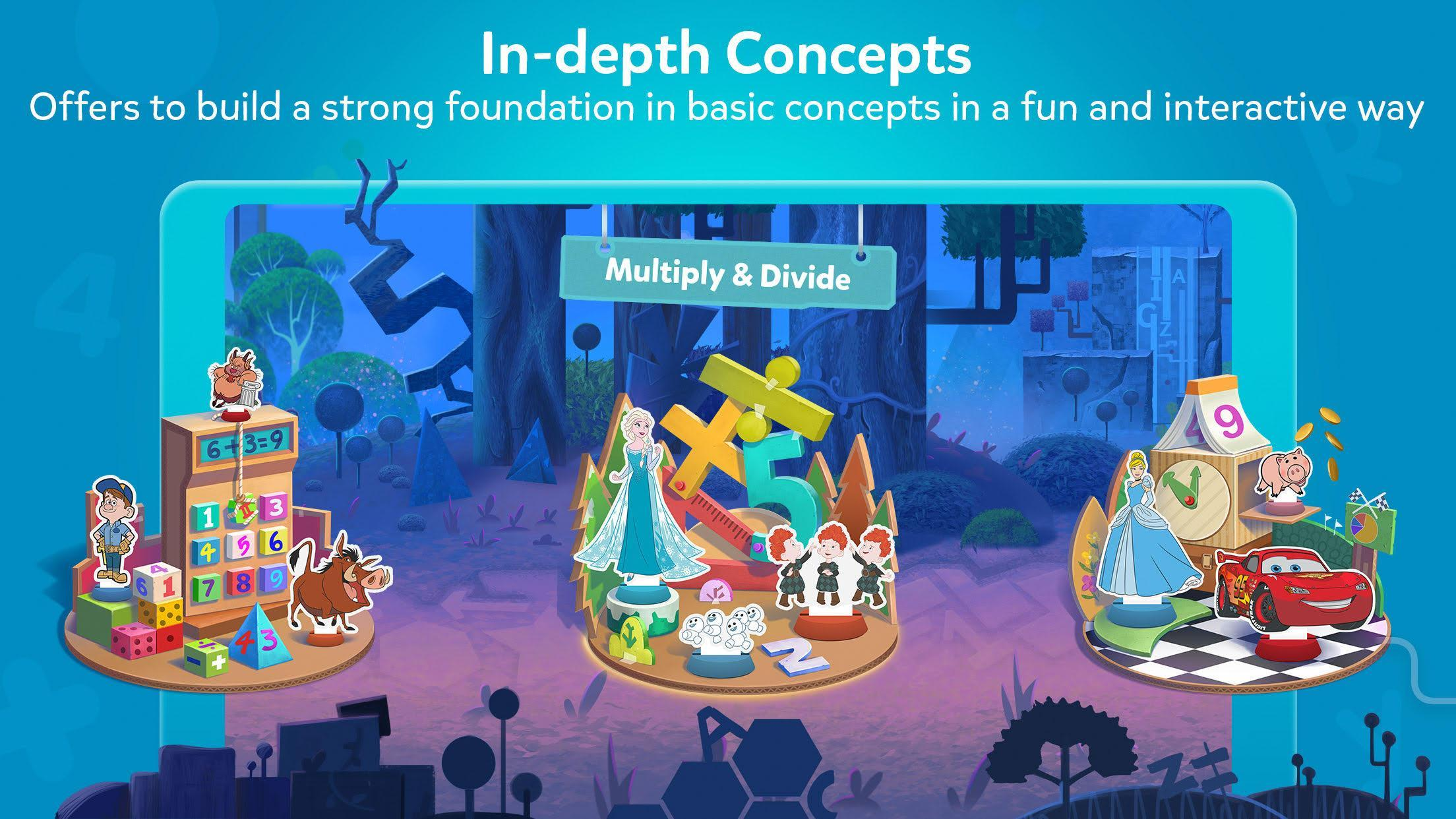 BYJU'S : Disney • BYJU'S Early Learn for Android - APK Download