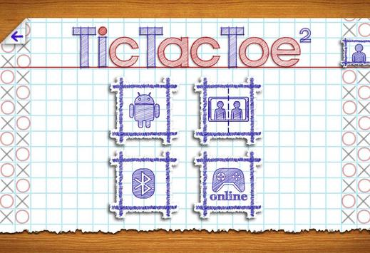 Tic Tac Toe 2 screenshot 1