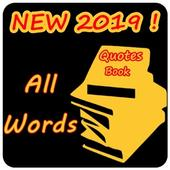All Words - Quotes Book icon