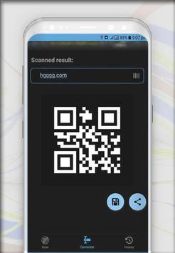 Scanner QR code reader & Barcode Scanner screenshot 3