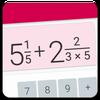 分数電卓:分数を簡単に計算 アイコン