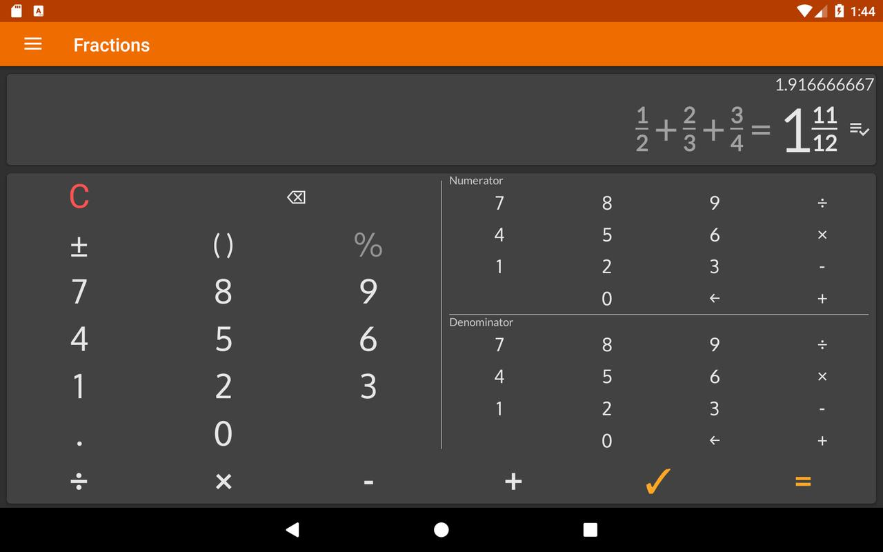 Fraction Calculator Free Easy Solve Math Problems Screenshot 12