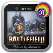 "XPERIA™ Theme ""Battlefield"" icon"