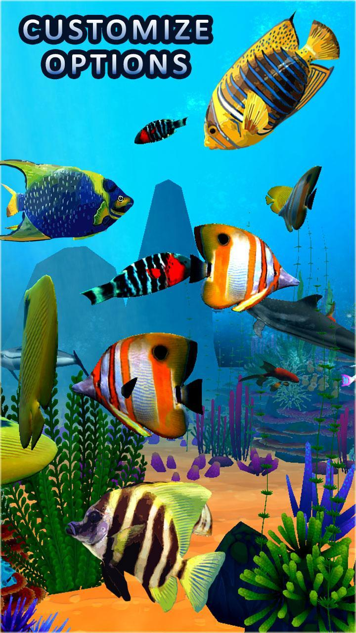 aquarium fish wallpaper 3d live fish