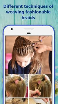 School Hairstyles Step by Step screenshot 3