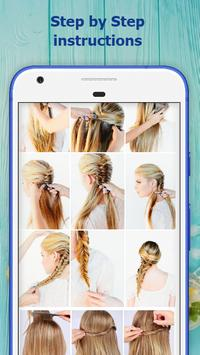 School Hairstyles Step by Step screenshot 8