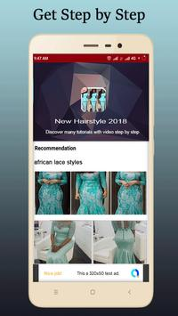 African Lace Styles 2018 poster