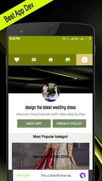 Design The Latest Wedding Dress poster