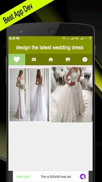 Design The Latest Wedding Dress screenshot 2