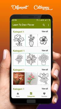 Learn To Draw Flower screenshot 3