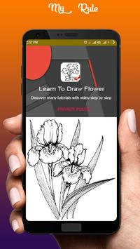 Learn To Draw Flower poster