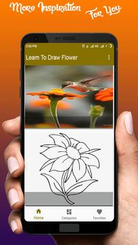 Learn To Draw Flower screenshot 1