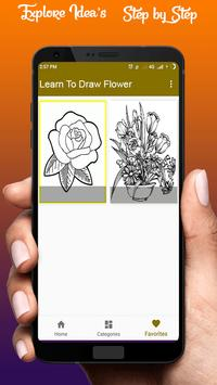 Learn To Draw Flower screenshot 2