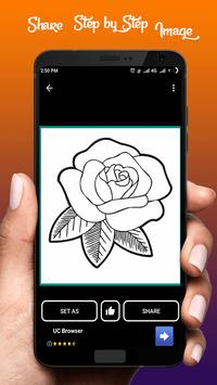 Learn To Draw Flower screenshot 4