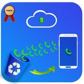 Recover deleted call log history icon