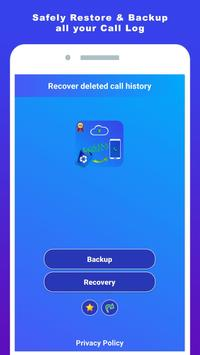 Recover deleted call log history poster