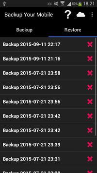 Backup Your Mobile screenshot 1