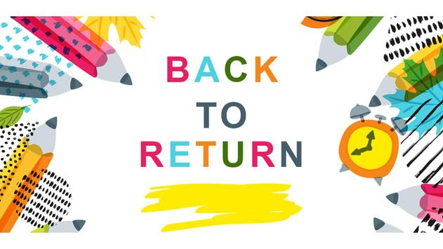 Back To School Return poster