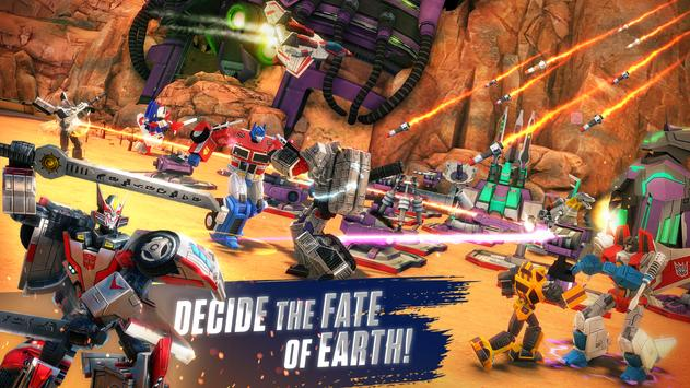 TRANSFORMERS: Earth Wars poster