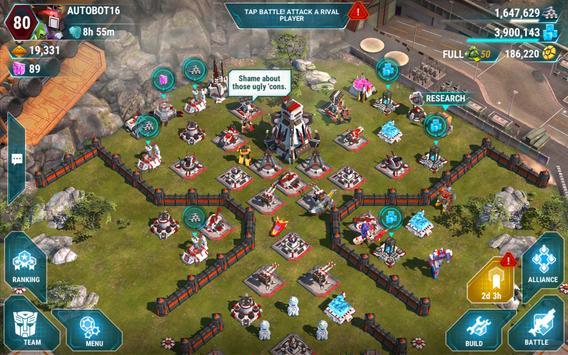 TRANSFORMERS: Earth Wars captura de pantalla 5